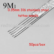 Professional stainless steel tattoo needle