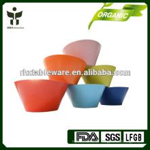 Fibra de la planta reciclada tazón de arroz chino