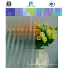 4mm, 5mm, 6mm Patrón / figura ducha vidrio de la puerta para la decoración