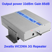 85dB Ganancia 3G UMTS Amplificador de señal de teléfono móvil