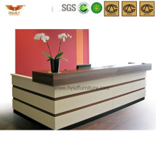 Popular Office Wooden Reception Desk Morden Front Desk (HY-Q43)