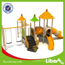 Lovely Kids Playground Equipment LE-DC008 Bright Colorful, House