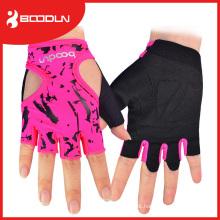 Luva de levantamento de peso tipo respirável Custom Gym Gloves