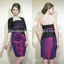 NY-1997 Luxe taffeta short sheath mother dress