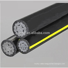 duplex electric wire aerial bundled abc overhead cable with reliable quality and good price