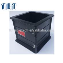 Exportation 150 * 150 * 150mm moule en plastique d'essai de cube en plastique