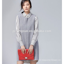Woolen coat sweater ladies' coat 100% merino wool