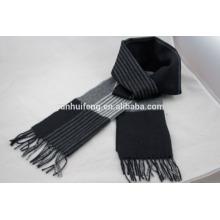 Bufanda de alta calidad de la raya de la cachemira de Inner Mongolia
