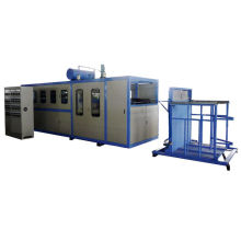 High Speed Plastic Automatic Vacuum Forming Machine With Color Touch Screen