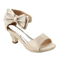 Обувь для девочек на высоком каблуке для девочек