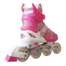 PVC Wheels Pink Kids Inline Skate