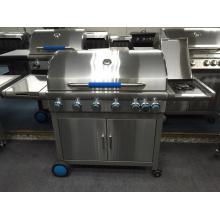 Europa Heißer Verkauf Barbeque Grill Gas BBQ mit 6 Brenner
