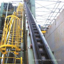 China Vertical Skirting Rubber Belt Conveyor