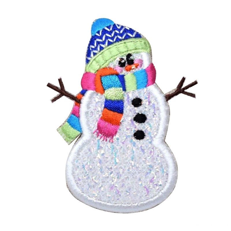 Winter Snowman Patch