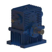 Center Distance 250&315mm Transmission Double Enveloping Worm Speed Reducer