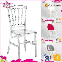 Sino Möbel Napoleon Stuhl Hochwertige Crystal Stuhl für Restaurant verwenden