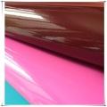 Cuero sintético reflectante de TPU para zapatos