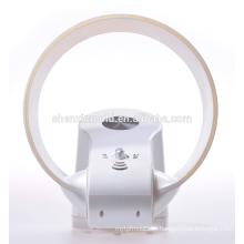 Neuer blattloser Lüfter - 12 Zoll - mit LED-Licht und Fernbedienung in weiß