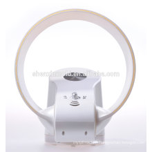 Nouveau ventilateur sans lame - 12 pouces - Avec lumière LED et télécommande en blanc