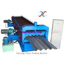 Línea de producción de alta velocidad de la plataforma de suelo que forma la máquina