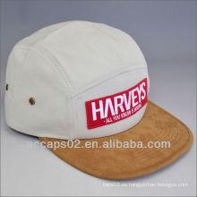 Correa de cuero 2013 5 sombreros / casquillos del panel