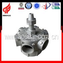 Tête d'arrosage métallique en alliage d'aluminium de 8 po avec 6 pales pour tour de refroidissement