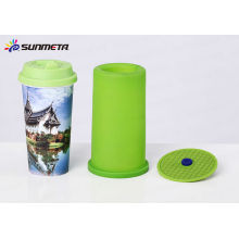 Abrazadera 3d de silicio para 3d sublimación taza de viaje abrazadera para máquina de sublimación 3d