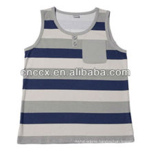 PK17ST219 100% cotton sleeveless oem high quality crewneck sweatshirt