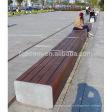 Assentos públicos ao ar livre