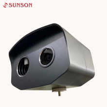 Sistema detector de temperatura corporal con cuerpo negro incorporado