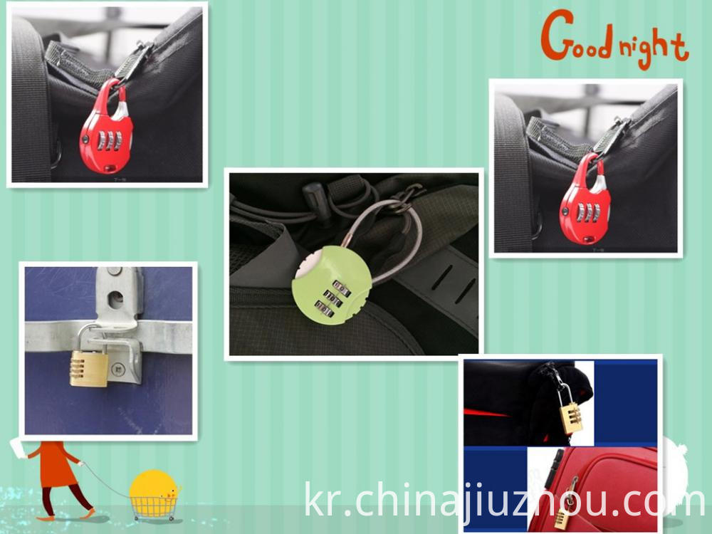 Combination Lock Suit For