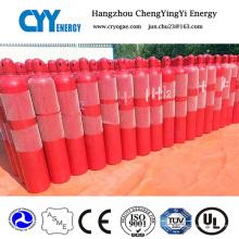 Cylindre de lutte contre l'incendie en acier sans soudure à gaz comprimé avec différentes capacités
