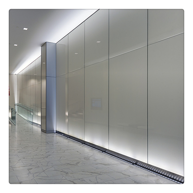 4 12mm Decorative Painting Toughened Wall