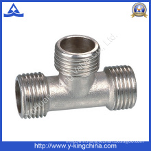 Factory Produce Brass Connect Coupling Tee Fitting (YD-6034)