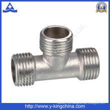 Fábrica de produtos de latão conectar acoplamento Tee montagem (YD-6034)