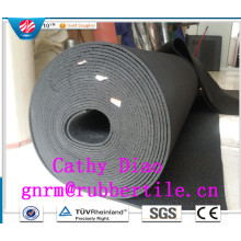 High Quality Color Industrial Rubber Sheet, Anti Slip Fine Thin Narrow Ribbed Rubber Sheet, Insulted Rubber Sheet