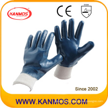 Рабочие перчатки с защитой от вырезания нитрилом в Джерси (53002)