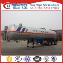 China hizo 3 ejes semirremolque de transporte de GLP