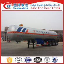 China made 3 axles LPG transport semi-trailer