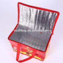 Sachet de pizza de retrait de sac de refroidisseur en nylon non tissé de haute qualité de fabricant d'origine