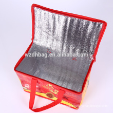 High Quality Non Woven Nylon Cooler Bag Take-Out Pizza Bag From Origin Manufacturer