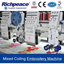 Richpeace Computerized Mezclado Coiling máquina de bordado