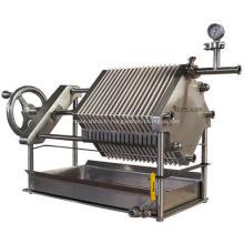Presse-filtre de chambre d'acier inoxydable de l'industrie alimentaire 304