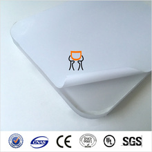 PC Material LED light diffusion Polycarbonate sheet 0.5mm high quality Translucent supplier