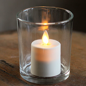 moving wick tealight