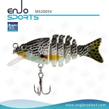 Ngler Selecione Multi articulado rígido pesca iscas sal e água doce Fishing Bait Fishing Tackle (MS2005V)