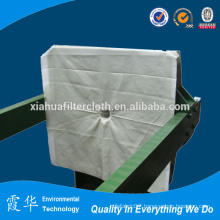 Polyester filter material for filter cloth