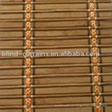 Persianas plegables de bambú