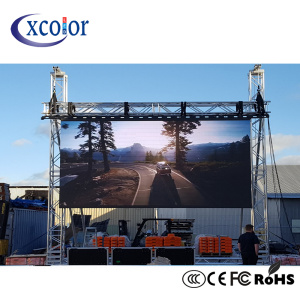 P10 Outdoor High Brightness Advertising Led Display