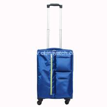 Multi-function nylon upright travel bag